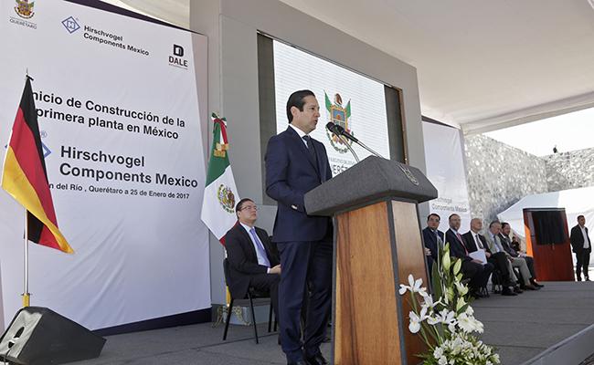 Construyen en Querétaro planta alemana de autopartes