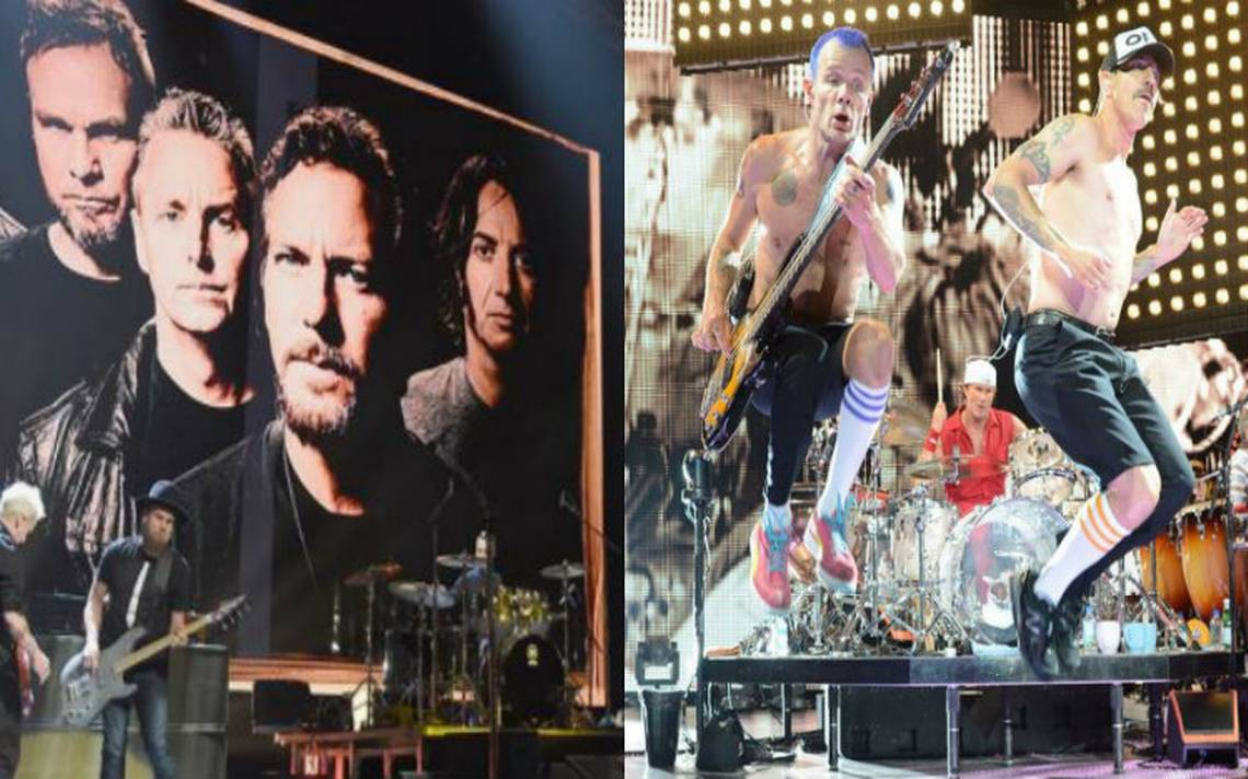¡Cartelazo! Pearl Jam y Red Hot Chili Peppers lideran Lollapalooza 2018