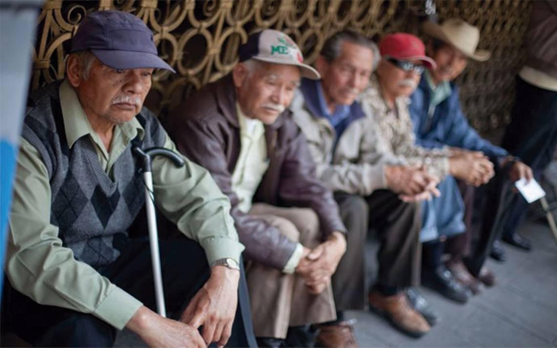 Solo una cuarta parte de la población de 60 años recibe pensión