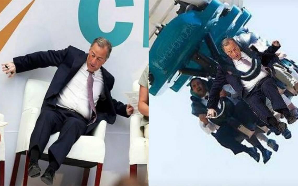 Meade casi se cae de su silla, él mismo se trollea y desata los memes