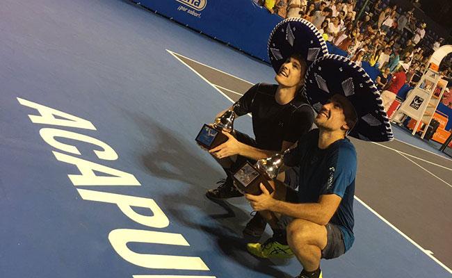 Murray y Soares arrasaron en dobles en la serie del AMT