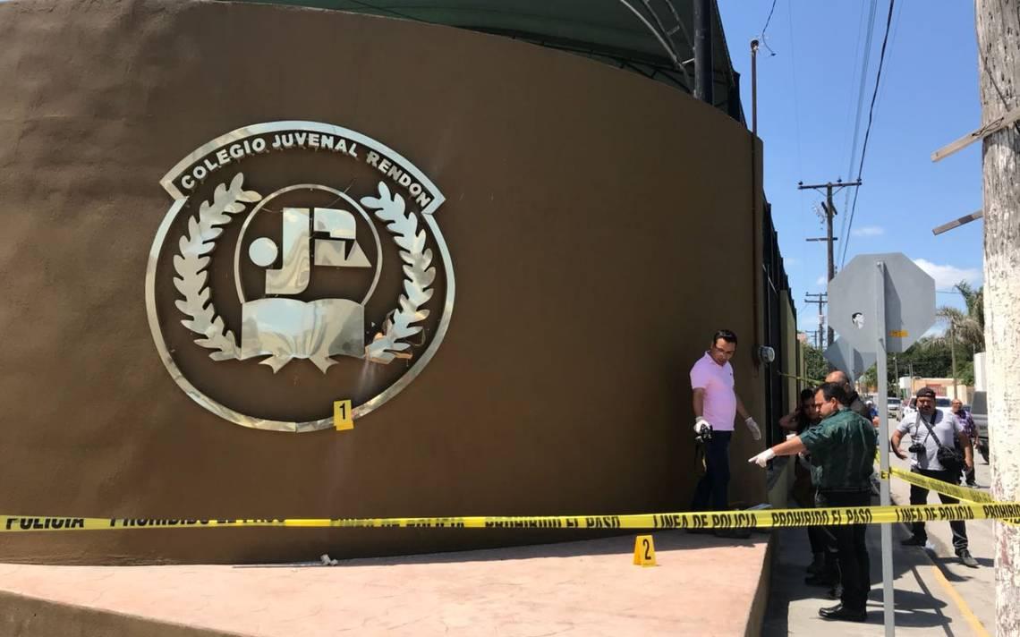 Generan pánico en un colegio de Matamoros: lanzan artefacto explosivo