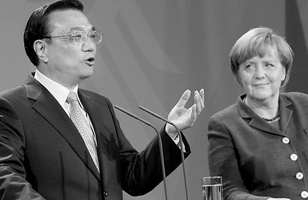 Pide China a Alemania jugar un papel estabilizador mundial