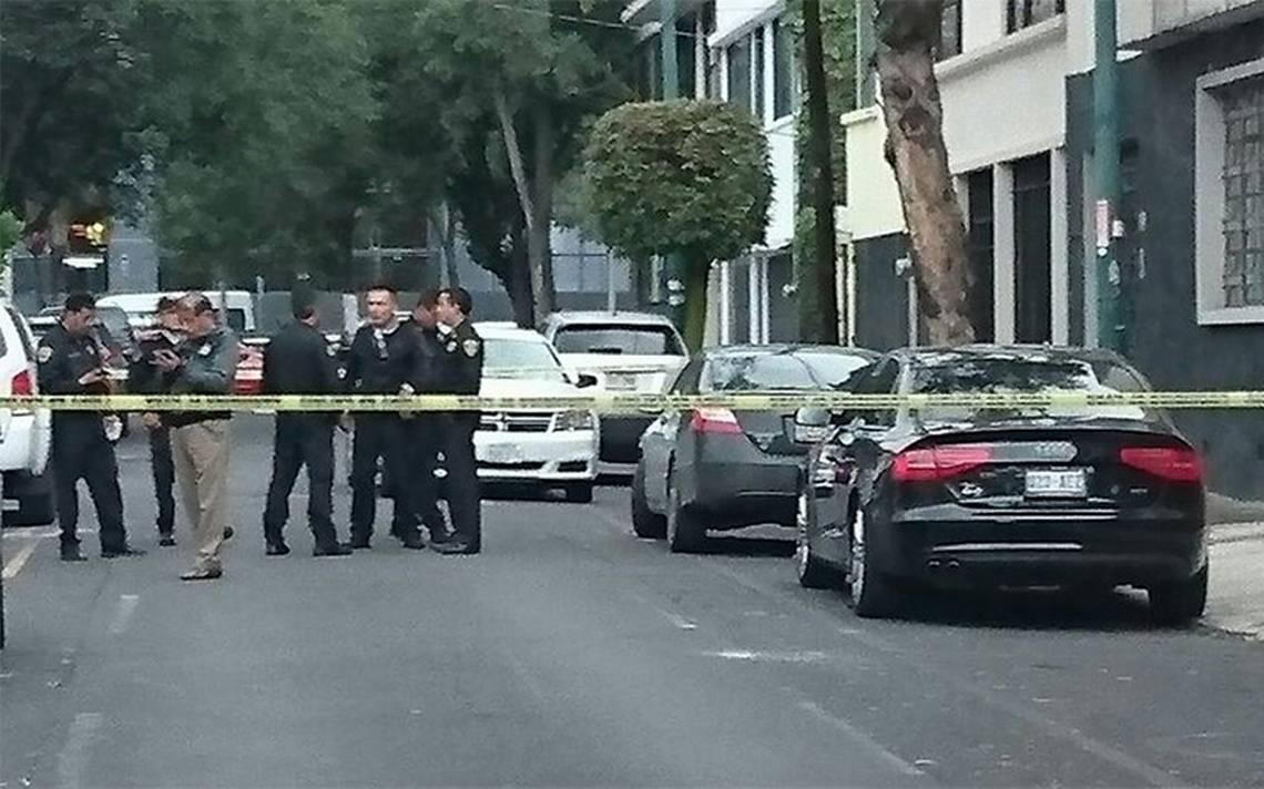 Asesinan y abandonan a joven dentro de un Audi cerca de Polanco