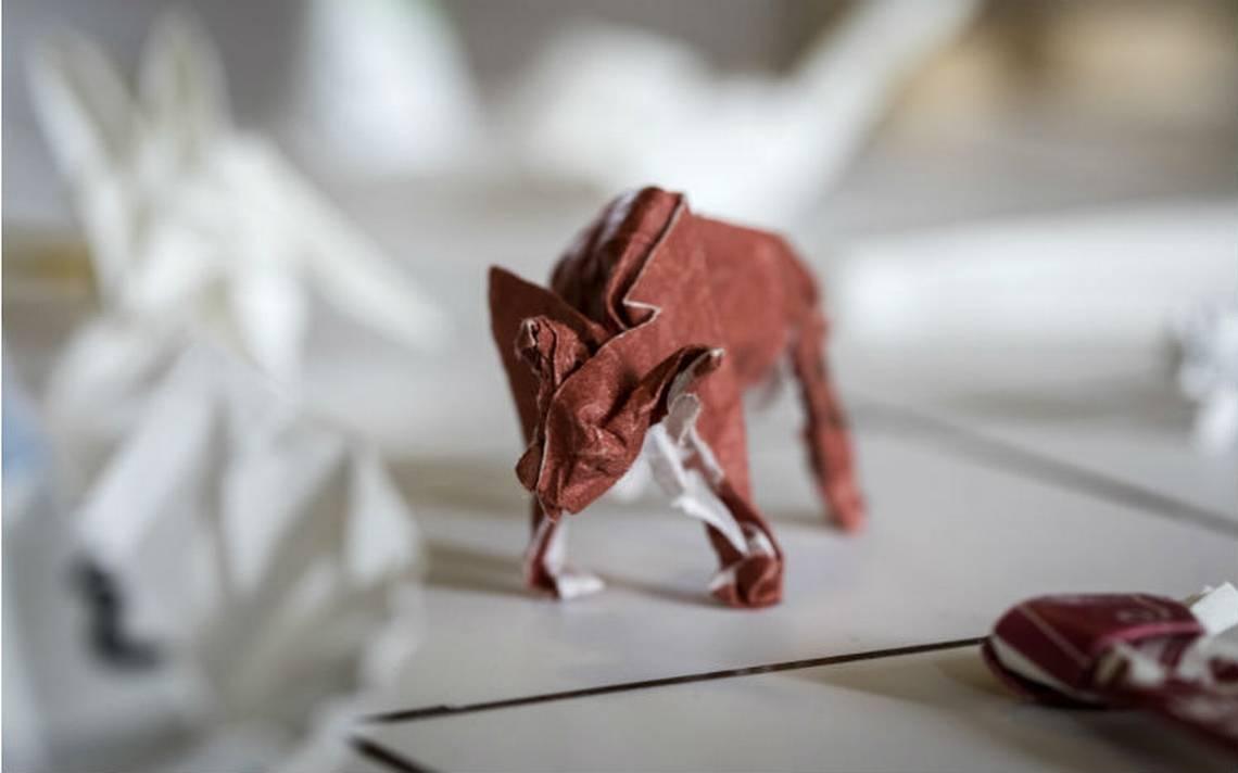 De propina en Japón, un sólido origami