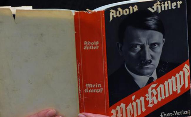 "Reedición de ""Mi lucha"" de Hitler vende 85 mil copias en 2016"