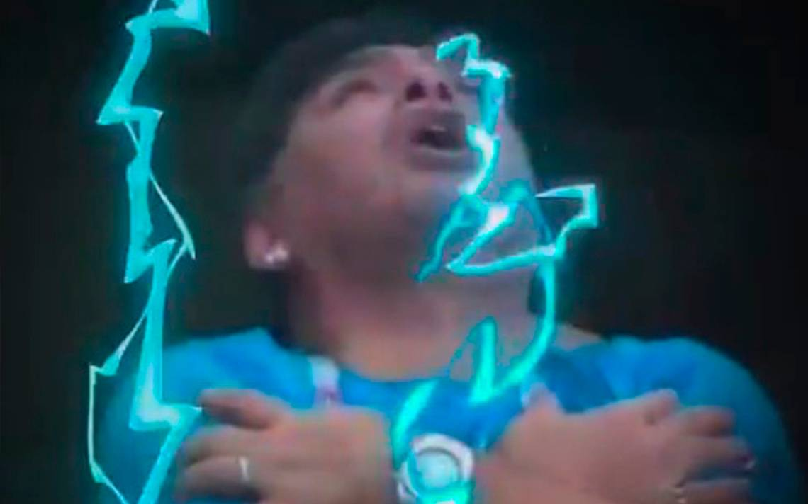 Plegarias de Maradona le llegan a Dios y memes celebran triunfo de Argentina ante Nigeria