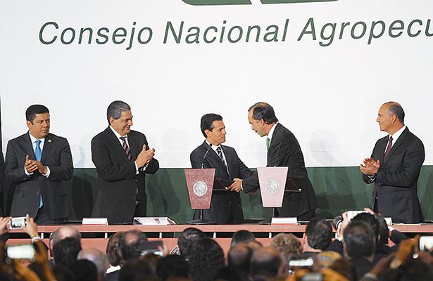 Crece aceleradamente sector agroalimentario, afirma el Consejo Nacional Agropecuario