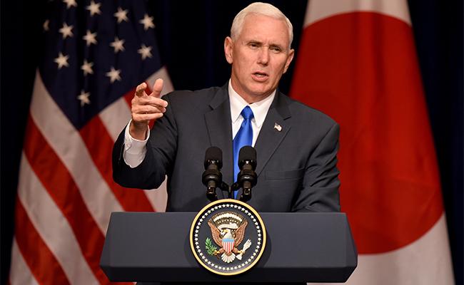 Si Corea del Norte ataca habrá una respuesta aplastante de EU: Mike Pence