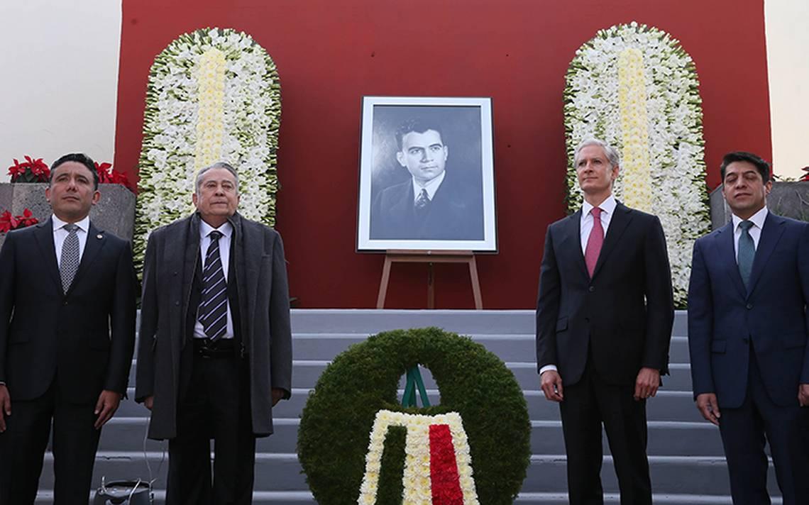 Se conmemoró el XLII Aniversario Luctuoso del exgobernador, Alfredo del Mazo Vélez