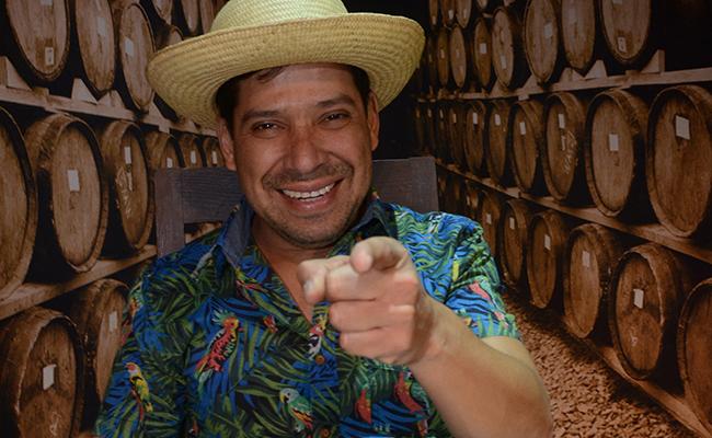 """""""El  Costeño""""  quiere ser un actor ¡serio!"""