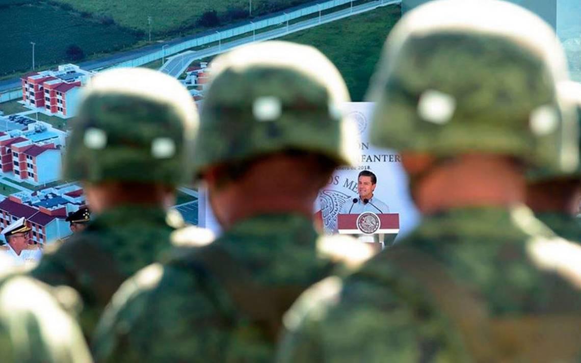 No puede haber perdón ni olvido para los delincuentes: Peña Nieto