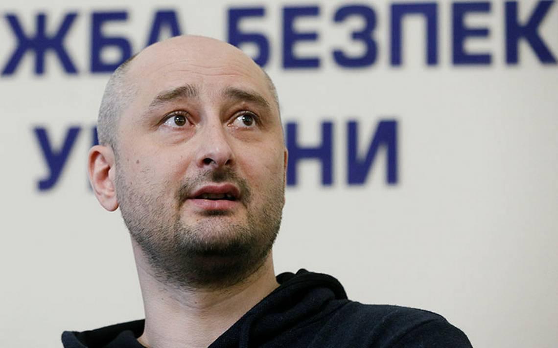 """Periodista Babchenko """"resucita"""" en Ucrania tras anunciarse su asesinato; denuncia que Rusia intentó matarle"""
