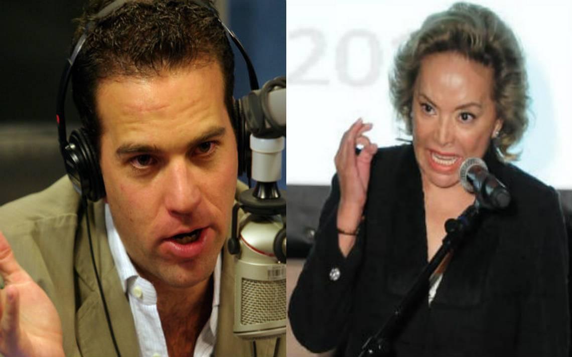 Elba Esther demandará al periodista Carlos Loret de Mola por daño moral