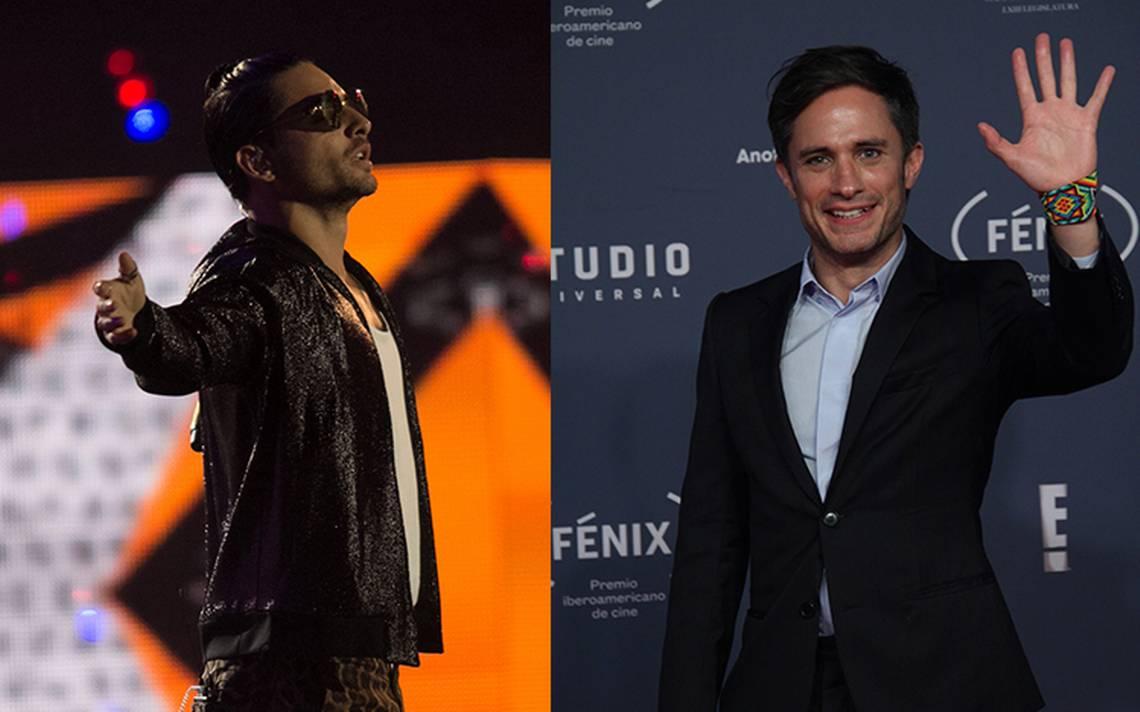 Maluma y Gael García ya se alistan para proyectos de YouTube