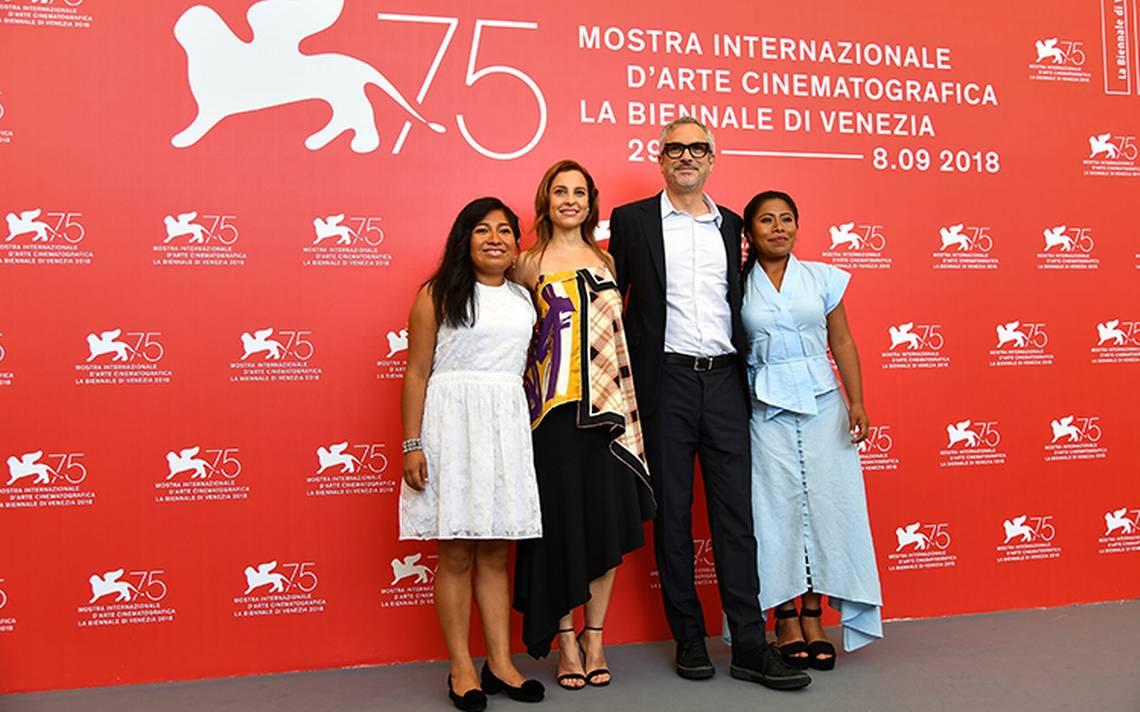 Siete minutos de aplausos, así la ovación para Roma de Alfonso Cuarón