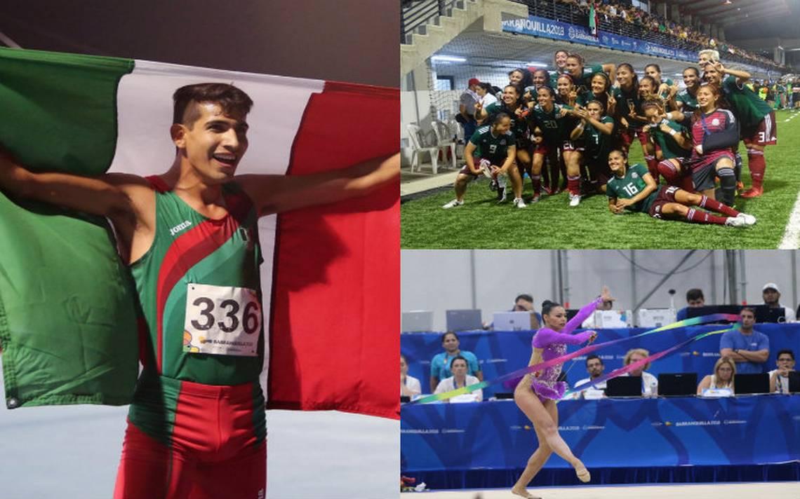 Felicita Peña Nieto a deportistas mexicanos en Barranquilla