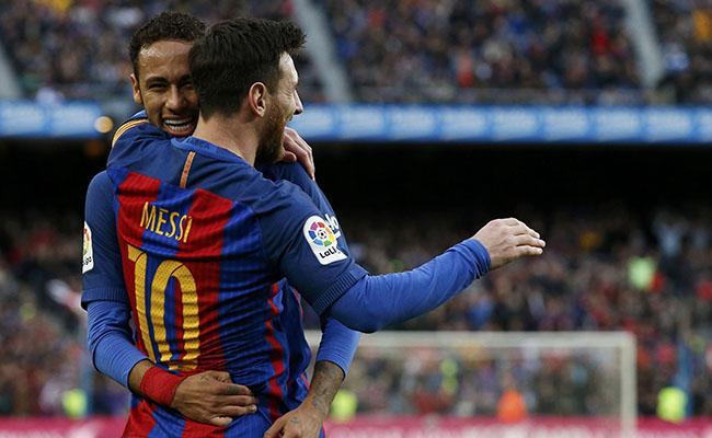 Barcelona con suerte avanza a la final de la Copa del Rey