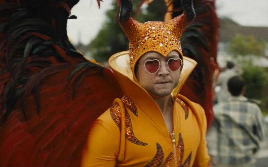 Ve el primer adelanto de Rocketman, la biopic de Elton John