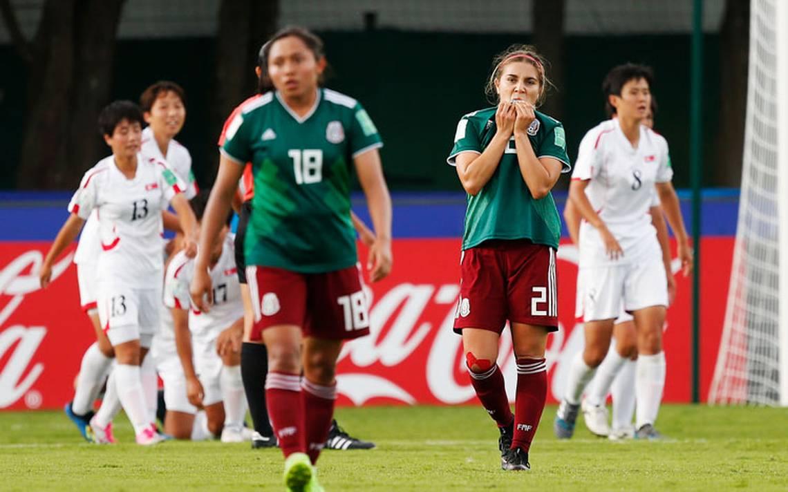 La Selección Mexicana Femenil Sub-20 cae 2-1 ante Corea del Norte