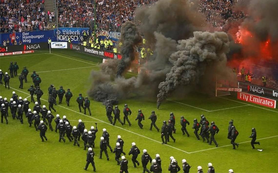 Hamburgo desciende en Alemania por primera vez en su historia en medio de incidentes