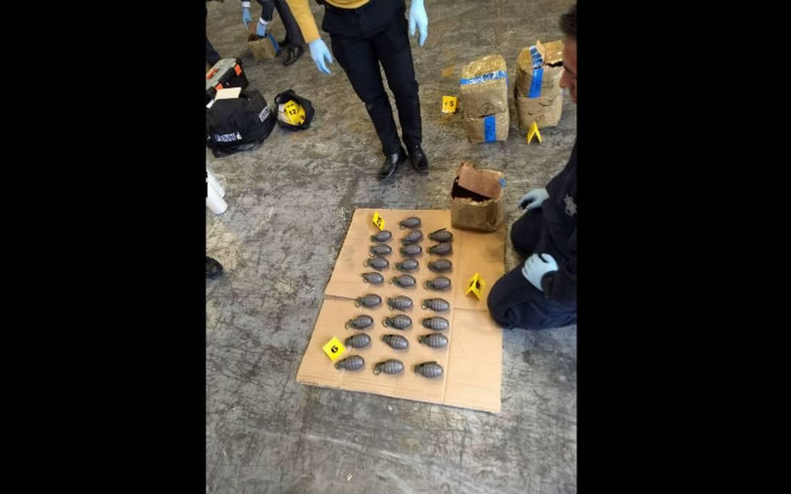 Interceptan en la GAM cargamento de casi dos mil granadas