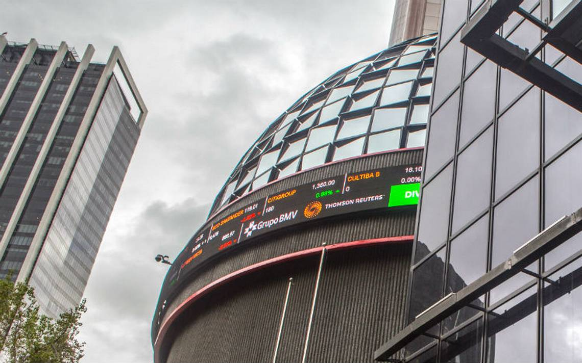 Bolsa Mexicana pierde en lA�nea con Wall Street ante tensiA?n comercial global