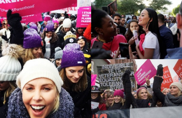 En imágenes las marchas de mujeres contra Trump