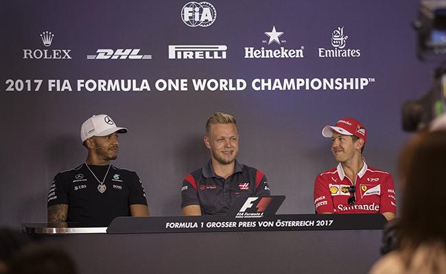 La rivalidad sigue entre Vettel-Lewis