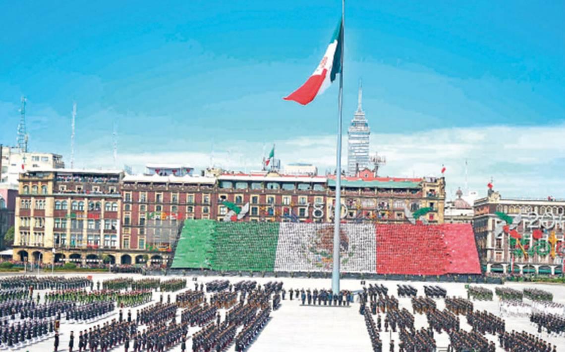 Comienzan los ensayos: militares se alistan para desfile en el Zócalo