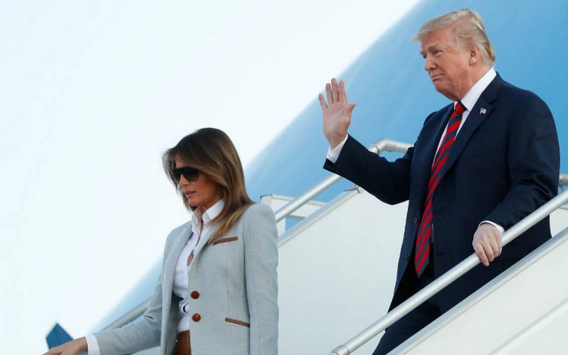 Trump llega a Helsinki para su cumbre de este lunes con Putin