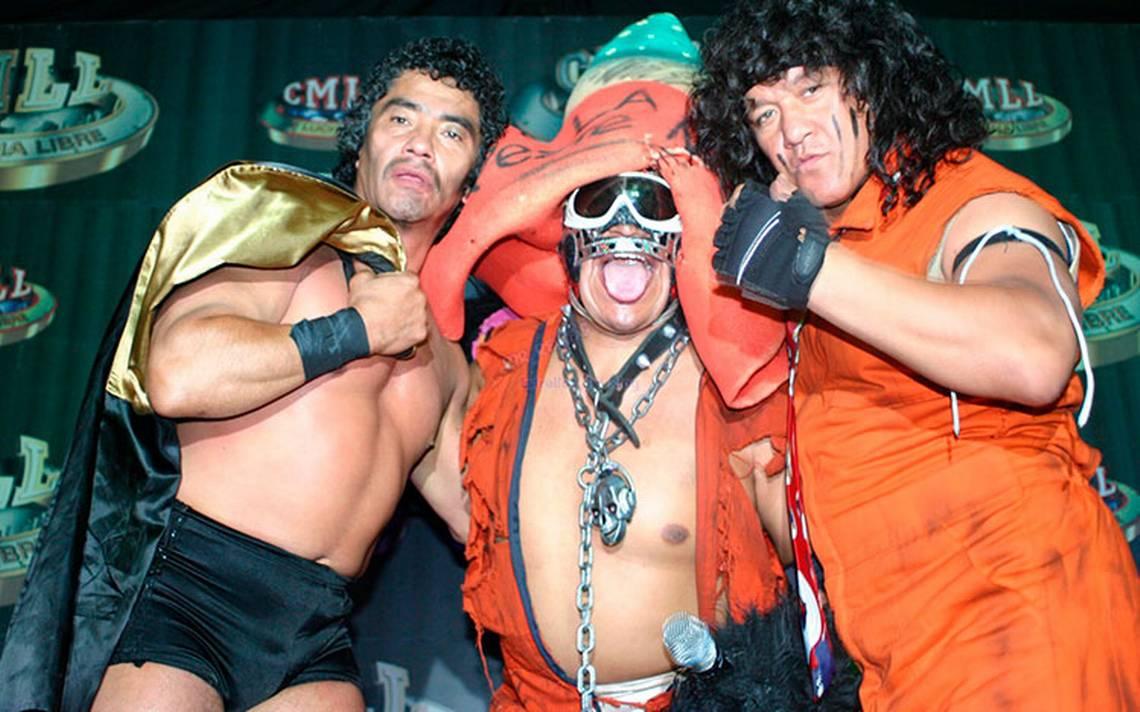 Mr. Niebla, Negro Casas y Felino se presentaron en la Arena México