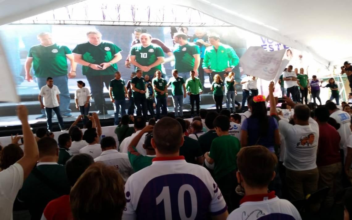 """Cuauhtémoc Blanco pide defender elecciones """"sin peleas"""""""