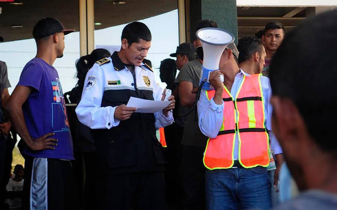 INM garantiza estancia de migrantes en trámites