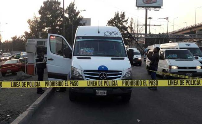 Asalto a transporte público deja un muerto y dos heridos en Ermita Zaragoza