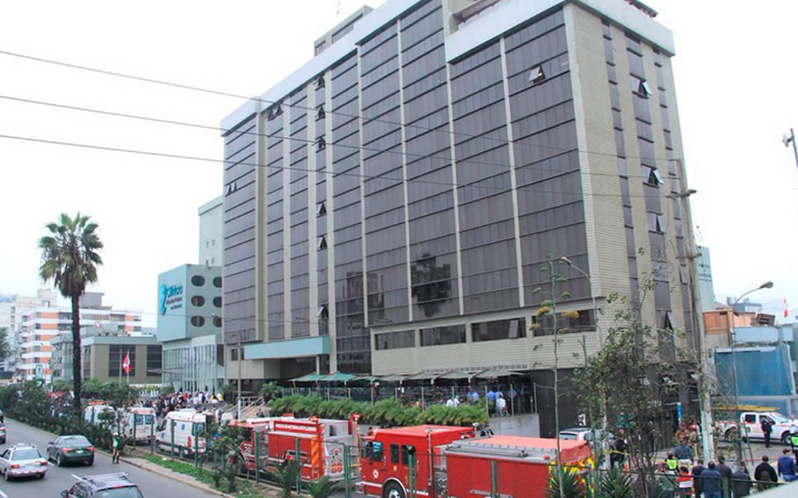 Explosión en hospital de Lima causada por dos hermanos para vengar a su madre: autoridades