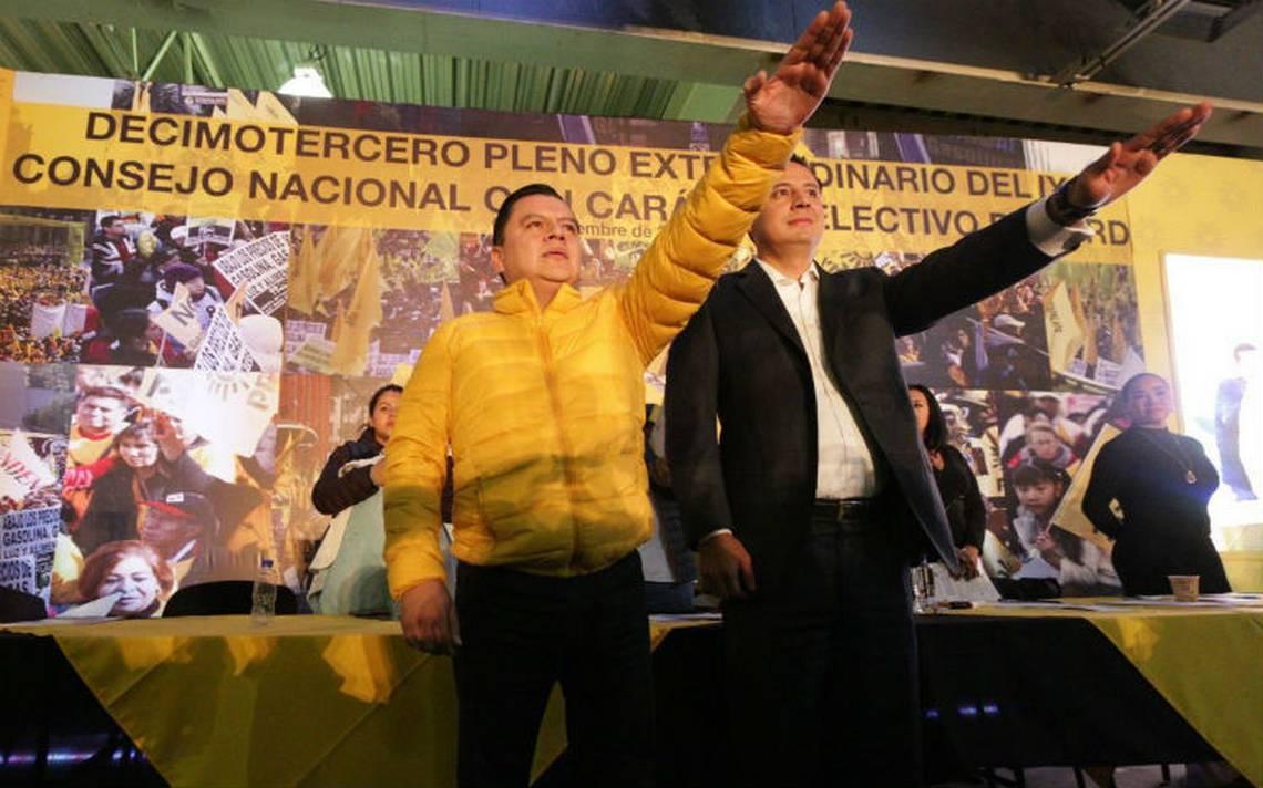 Elige PRD a Manuel Granados como su presidente nacional