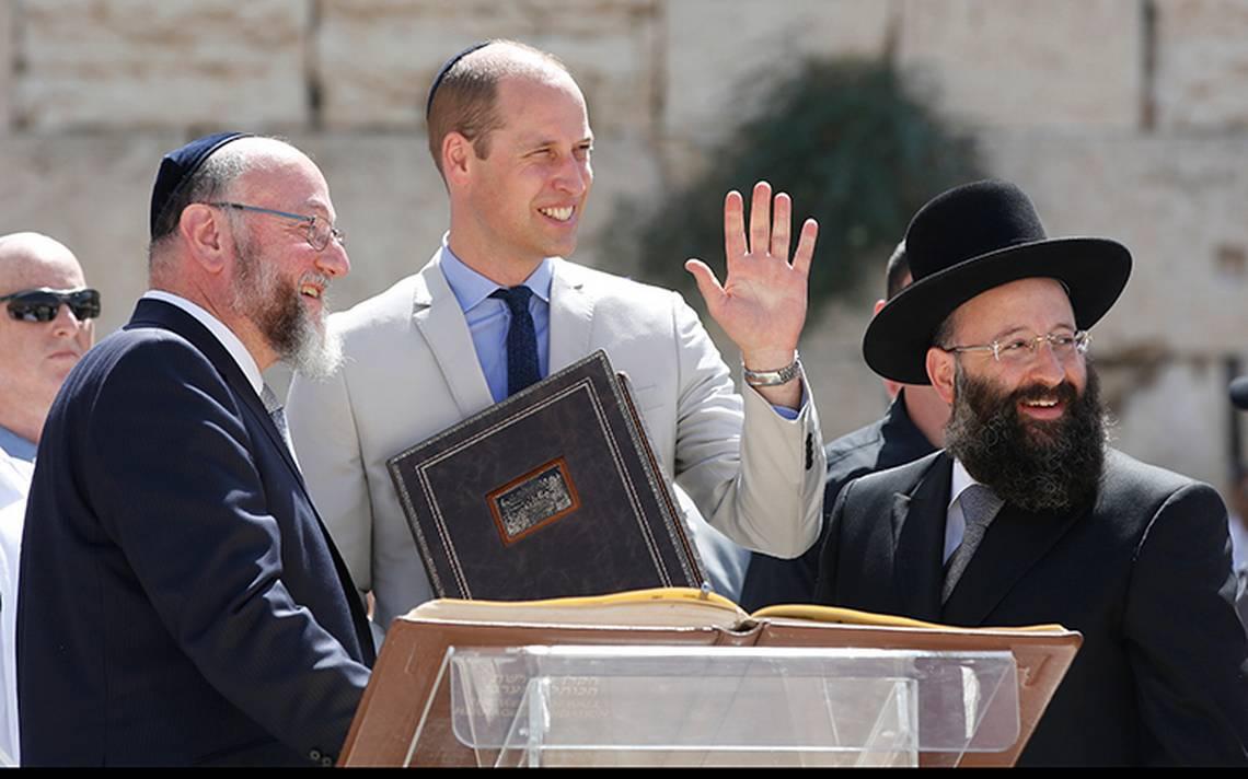 Príncipe William visita la Ciudad Vieja de Jerusalén