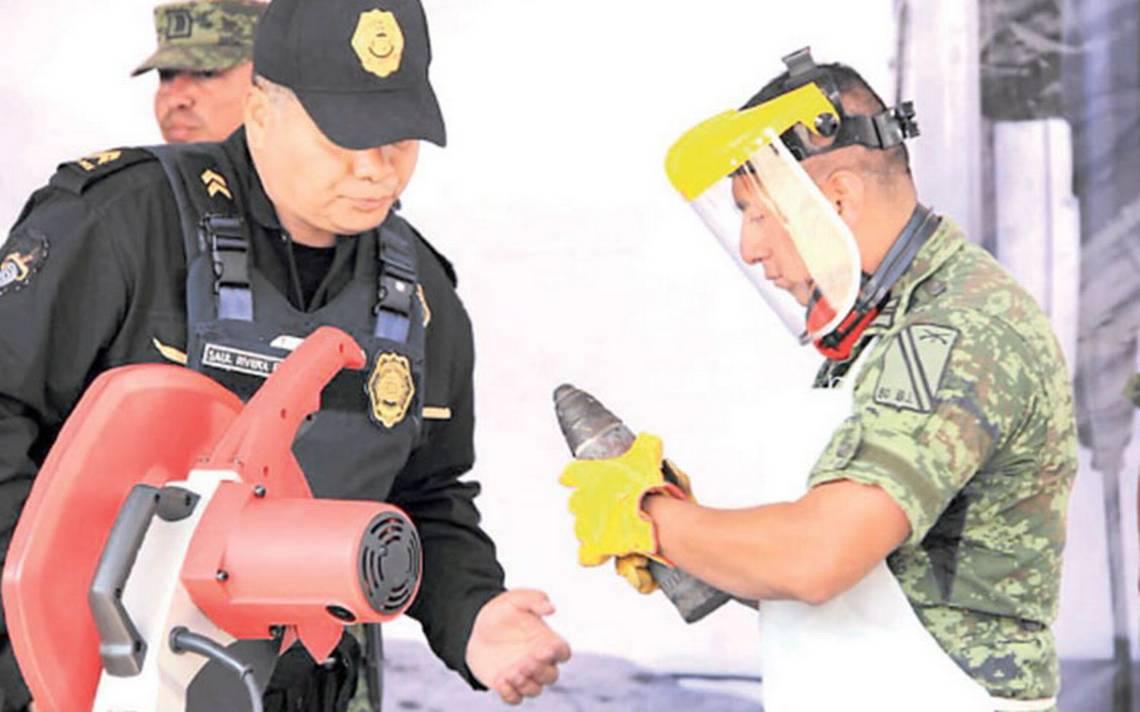 Réplicas de armas alerta a autoridades de la capital