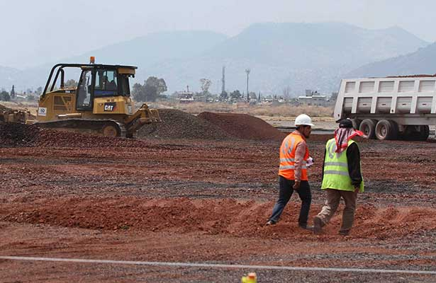 Nuevo aeropuerto de la Ciudad de México concluye 2016 con importantes avances