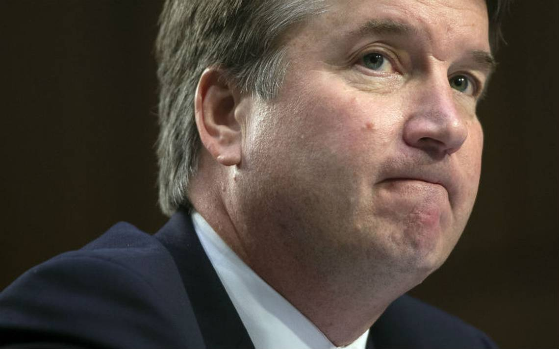 """""""Dije algunas cosas que no debA� haber dicho"""", reconoce Kavanaugh tras testimonio en el Senado"""