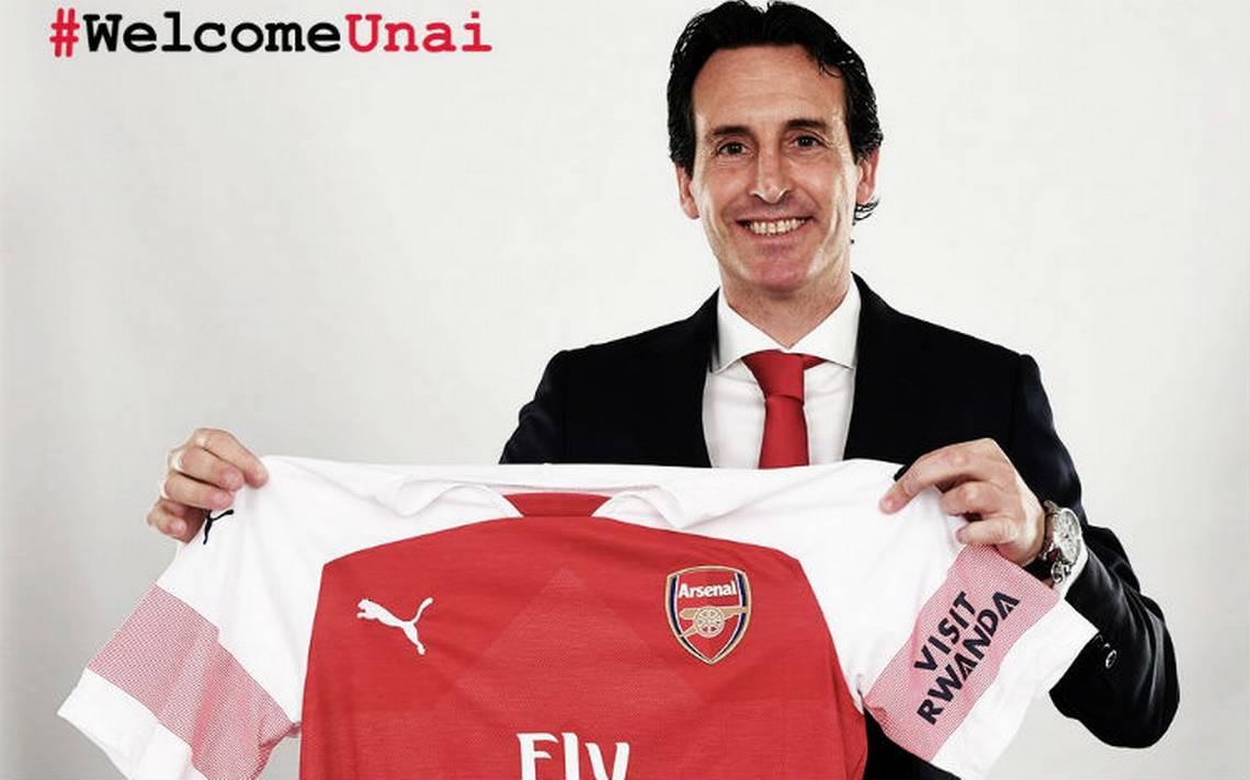 Unai Emery, nuevo entrenador del Arsenal