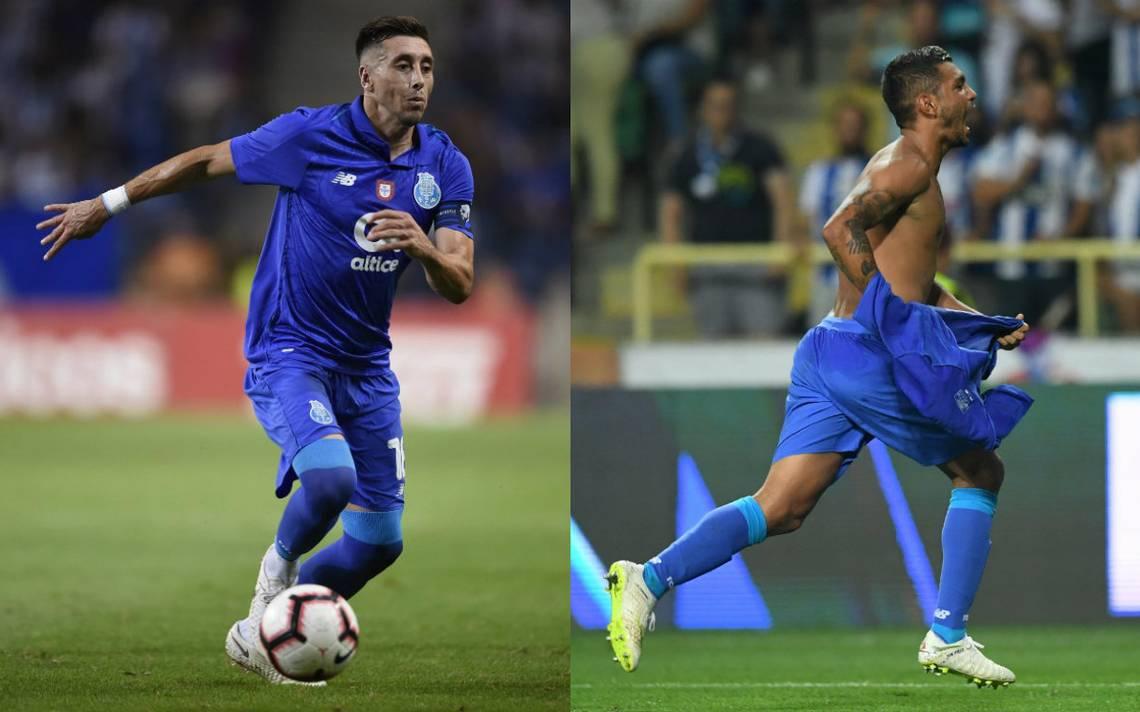 Tecatito y Herrera se llevan la Supercopa de Portugal con el Porto