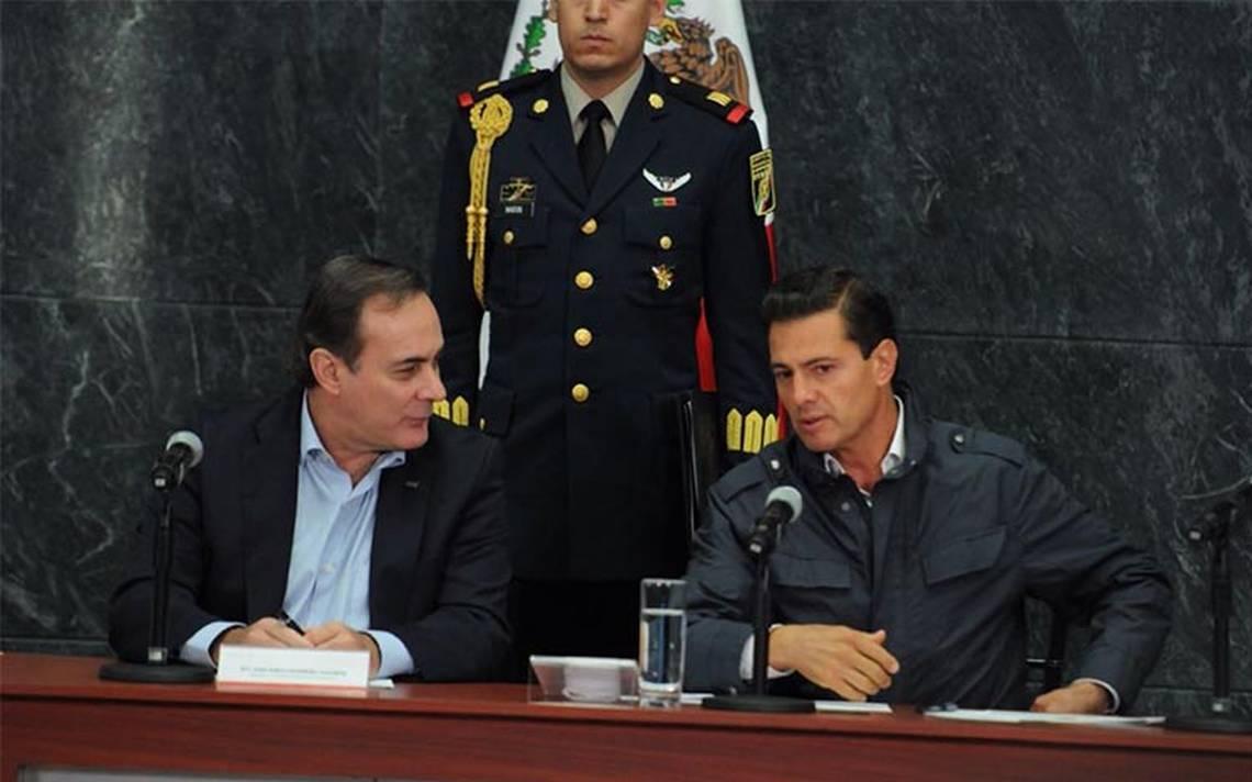 Sólo los afectados accederán a apoyos económicos: Peña Nieto