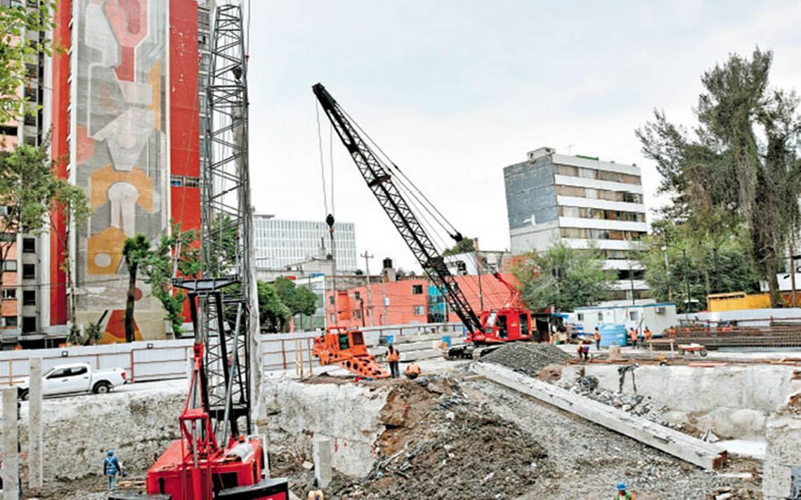 Como parte de la reconstrucción, ponen cimientos en Osa Mayor