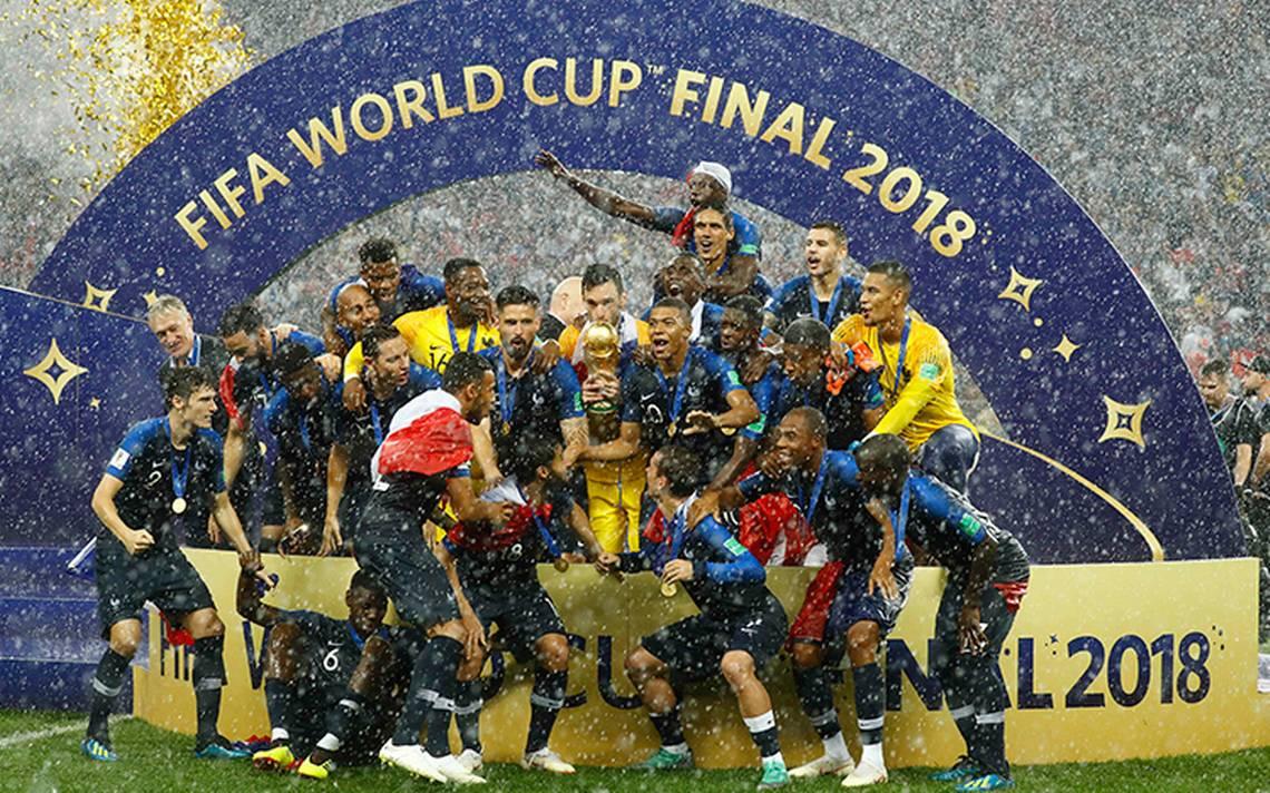 Francia se une al club de los bicampeones del Mundo