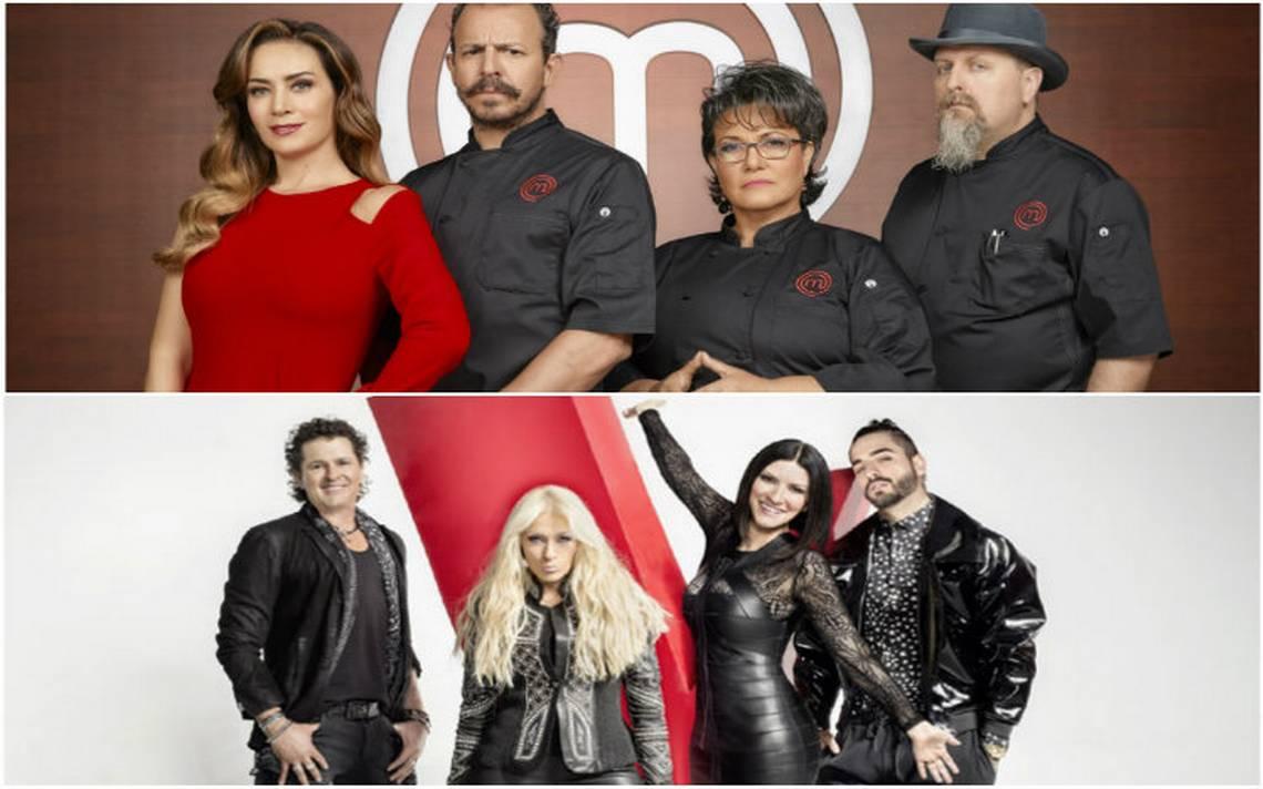La Voz… México gana en televidentes pero Master Chef arrasa en redes