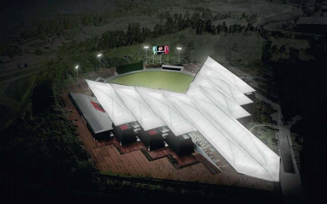 Date un tour por el nuevo estadio de los Diablos Rojos de México, AMLO lo inaugurará