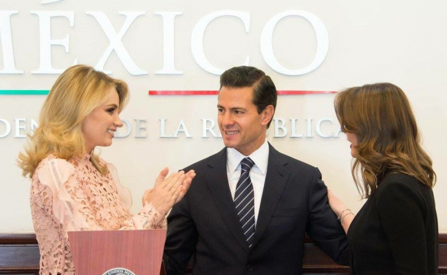 Da la bienvenida Angélica Rivera a nueva directora del DIF nacional