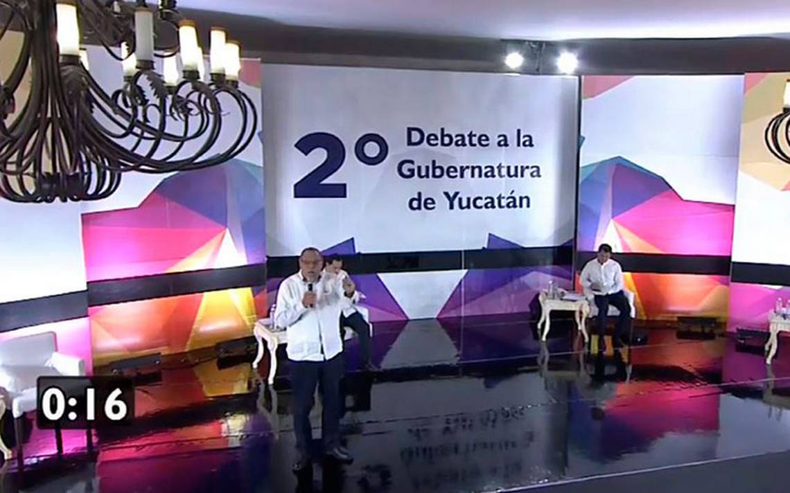 Candidatos al gobierno de Yucatán debaten sobre economía, equidad de género y educación